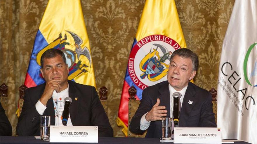 Santos y Correa se encuentran en Cali para reunión bilateral