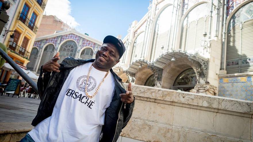 El rapero africano afincado en Valencia, Lorey Money