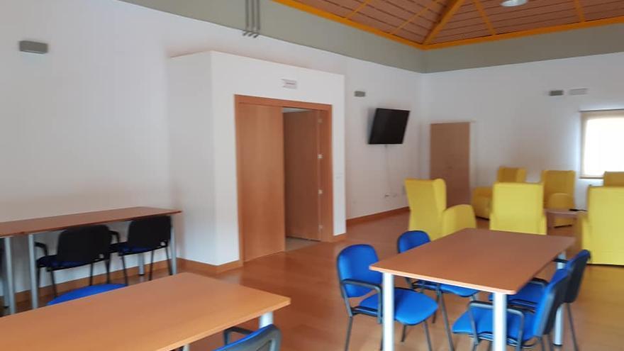 Interior de la Residencia de Mayores de Santo Domingo (Garafía)
