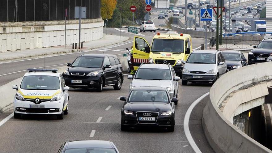Ocho fallecidos en siete accidentes de tráfico durante el fin de semana