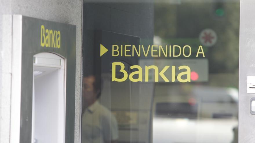 Una oficina de Bankia. EUROPA PRESS