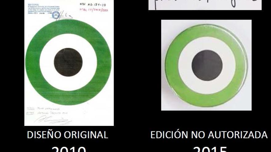 Una de las pruebas presentada por los hermanos Pacheco Puig ante los tribunales por presunta usurpación de sus derechos de autor