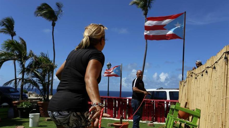 El huracán María pone su ojo sobre Puerto Rico tras generar destrozos en algunas islas del Caribe