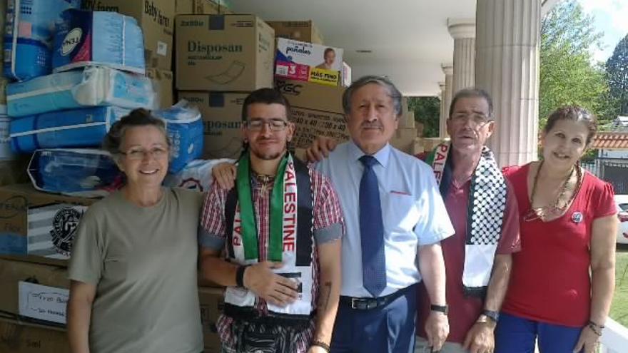 Recogida de medicamentos para Palestina en Albacete