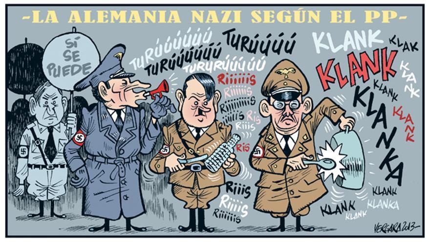 La Alemania nazi según el PP