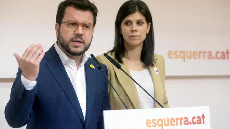 ERC aclara que la mesa de negociación debe ser entre gobiernos