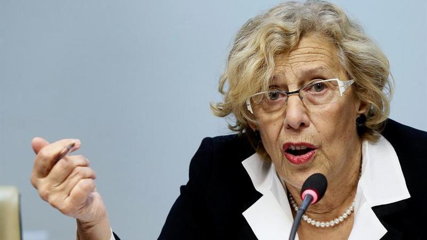 """Carmena pide distinguir entre las ocupaciones ilegales y las de """"necesidad"""""""