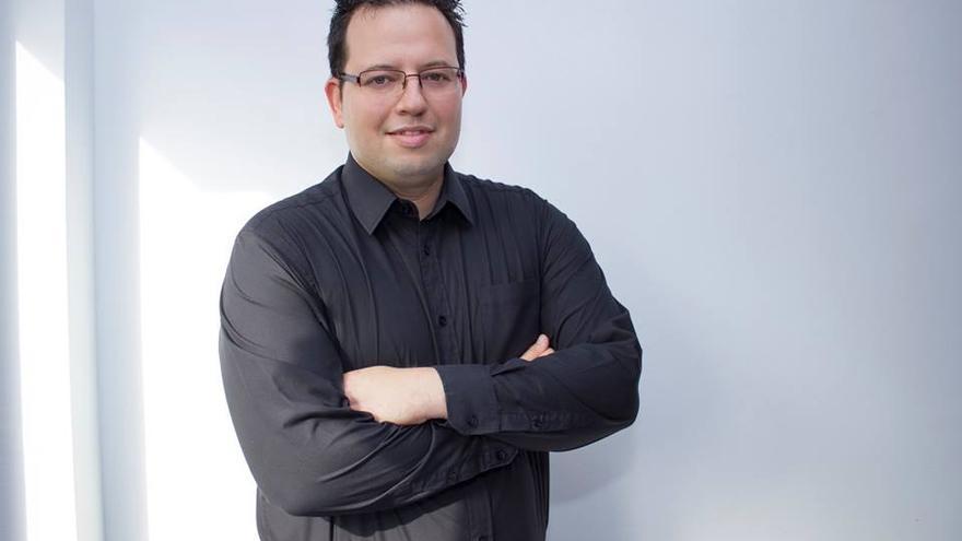 Jorge Gómez, candidato de UPyD al Senado por Gran Canaria
