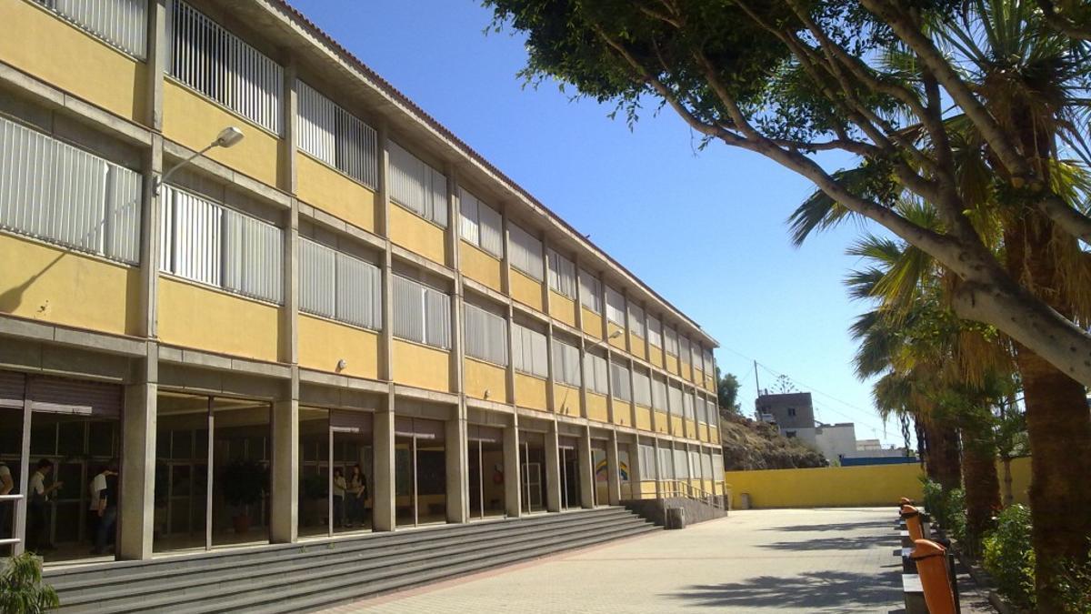 IES Anaga, en Santa Cruz de Tenerife