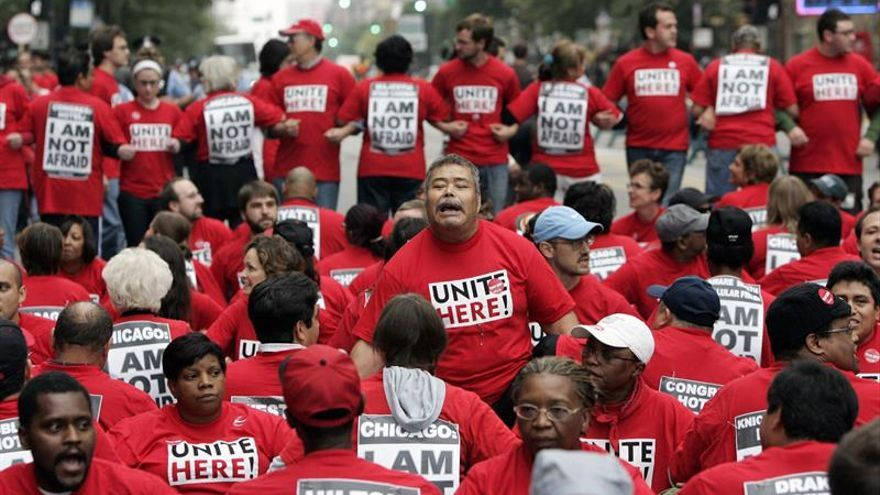 Sindicato en EE.UU. promete la mayor protesta contra Trump en el Día del Trabajo