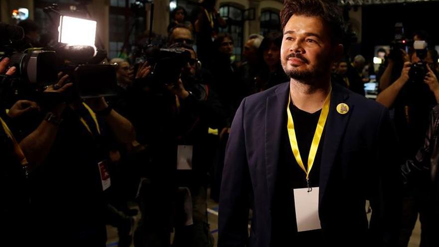 """Rufián dice Cataluña daría 12 puntos a España en Eurovisión:""""Quedaos con eso"""""""