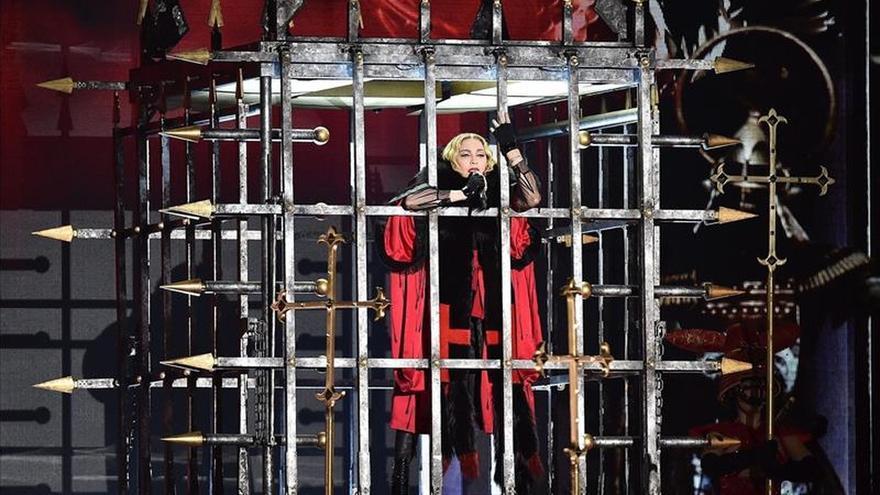 Ochocientas personas no fueron al blindado concierto de Madonna en Turín (Italia)