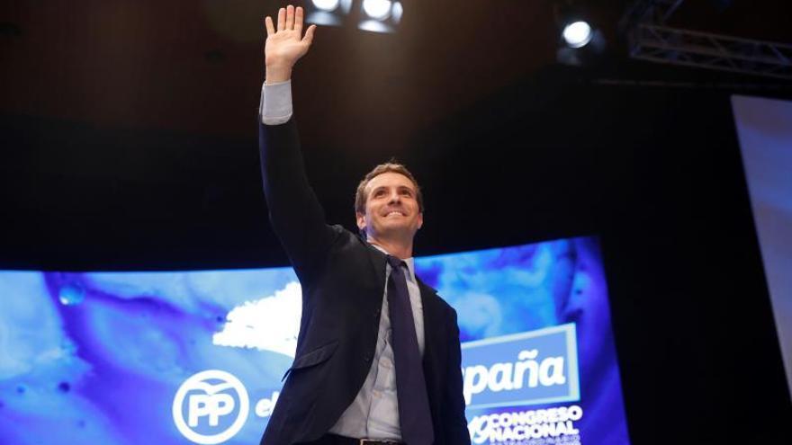 Pablo Casado, nuevo presidente del PP con el 57 por ciento de los votos