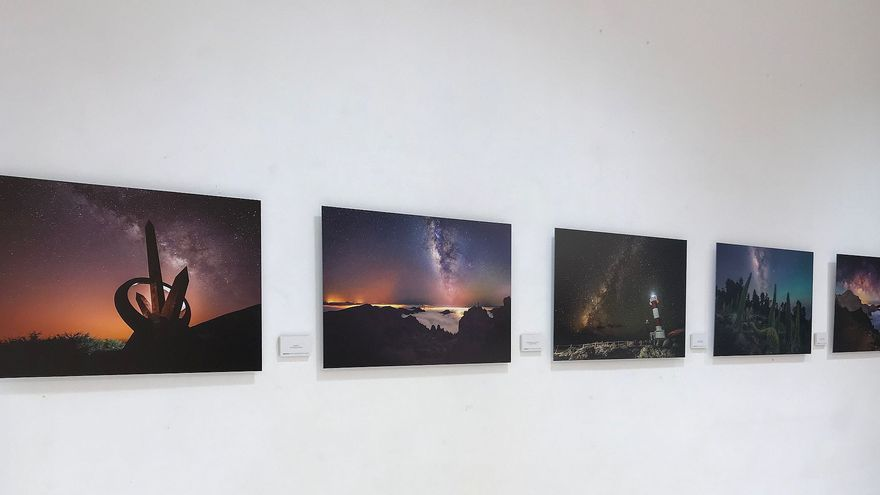 Exposición en el Museo Arqueológico Benahoarita de las mejores obras presentadas al IX Concurso Internacional de Astrofotografía.