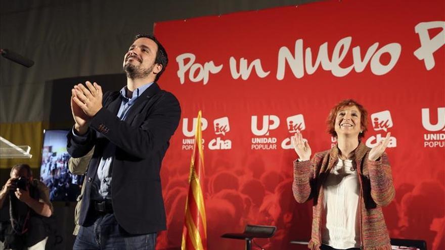 Garzón quiere una Constitución que acabe con la oligarquía franquista vigente