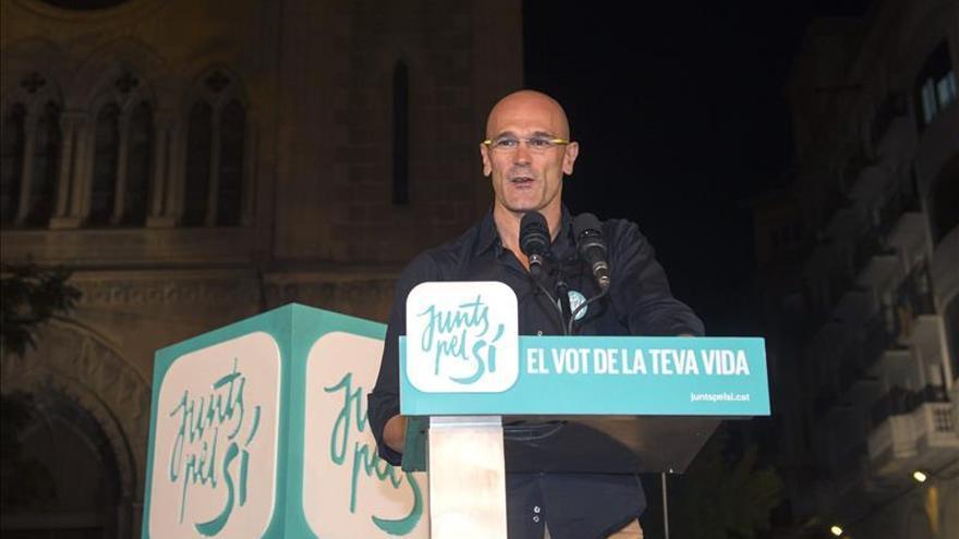 """Romeva afirma que las elecciones generales no condicionarán el """"mandato"""" del 27S"""