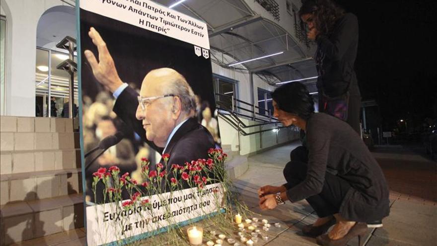 Fallece a los 94 años Glafkos Cleridis, antiguo presidente de Chipre
