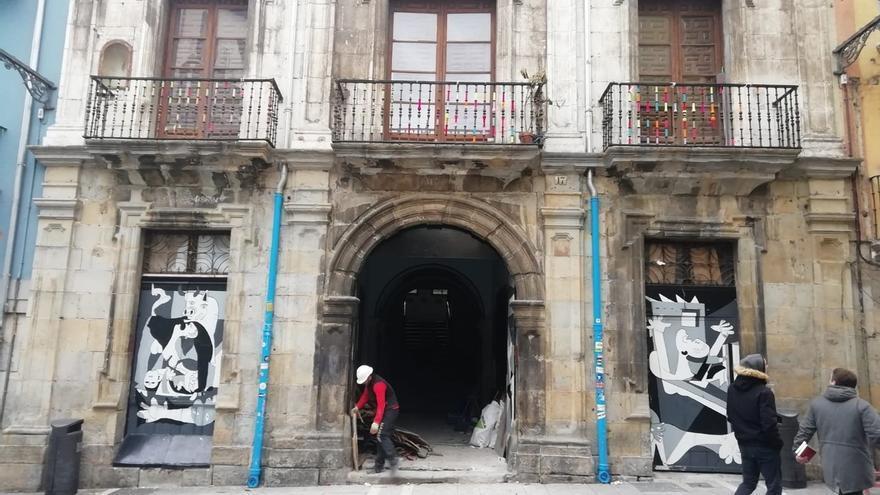"""El Gobierno de Navarra decide """"clausurar"""" el Palacio del Marqués Rozalejo por """"seguridad"""""""