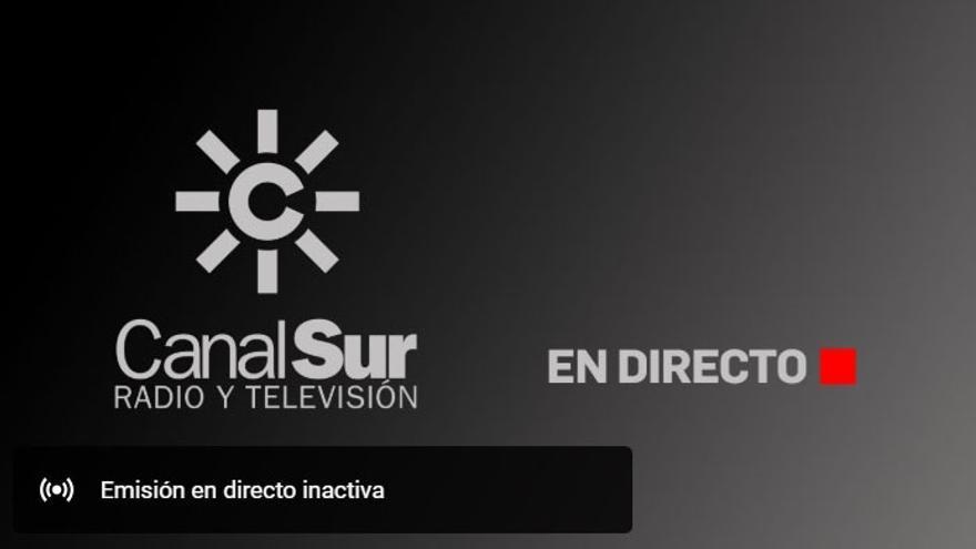 Un problema técnico impide a Canal Sur suministrar la señal del juicio de los ERE durante el informe final de José Antonio Griñán
