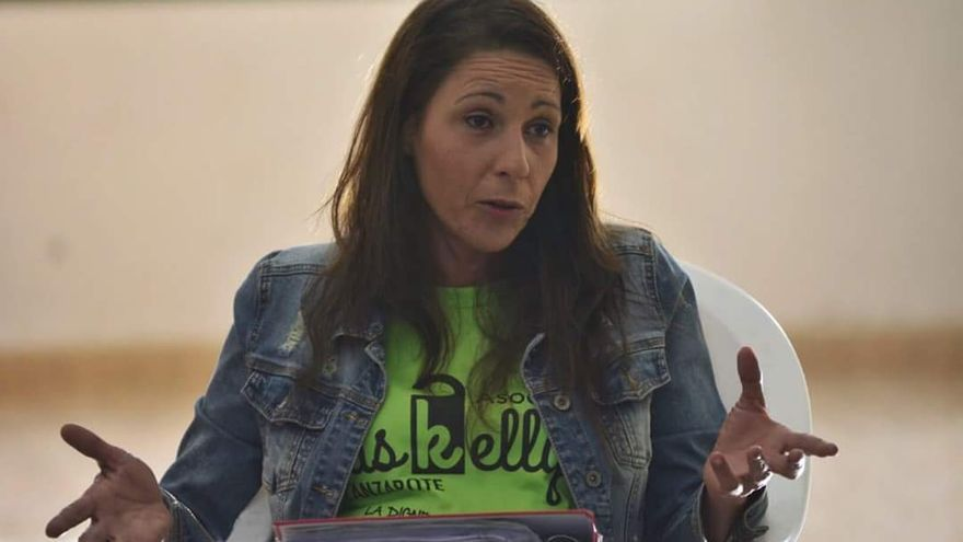 Myriam Barros, presidenta de Las Kellys.