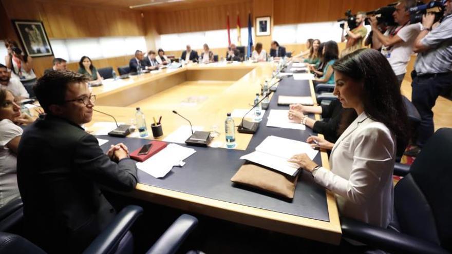 """Vox pide a Cs que no los trate como """"apestados"""" ni bloquee el pacto en Madrid"""