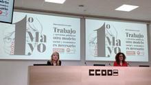 """CCOO y UGT Andalucía reivindican un Día del Trabajo diferente, sin salir a la calle pero para no volver a """"lo de siempre"""": """"De aplausos no vive la gente"""""""