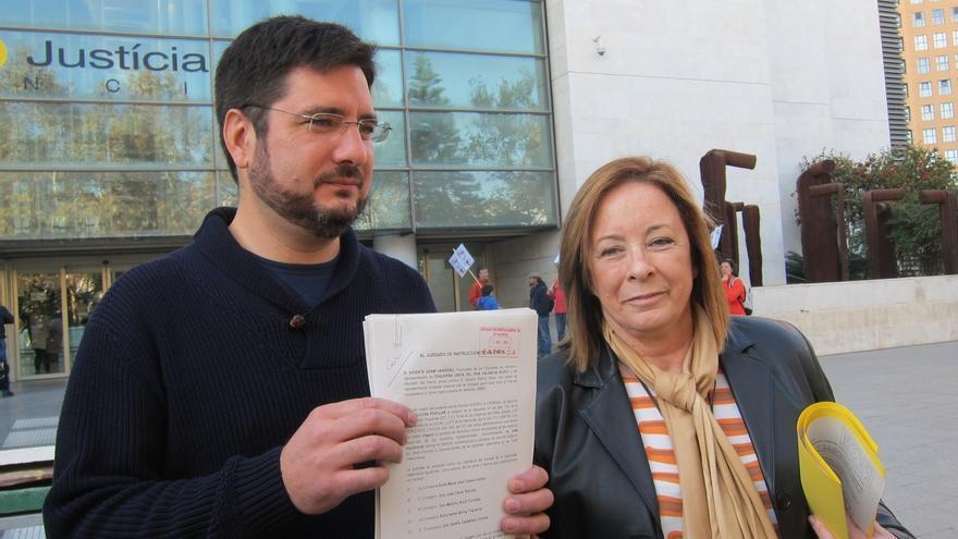 El juzgado abre diligencias previas por la querella de EUPV contra consejeros valencianos por opacidad