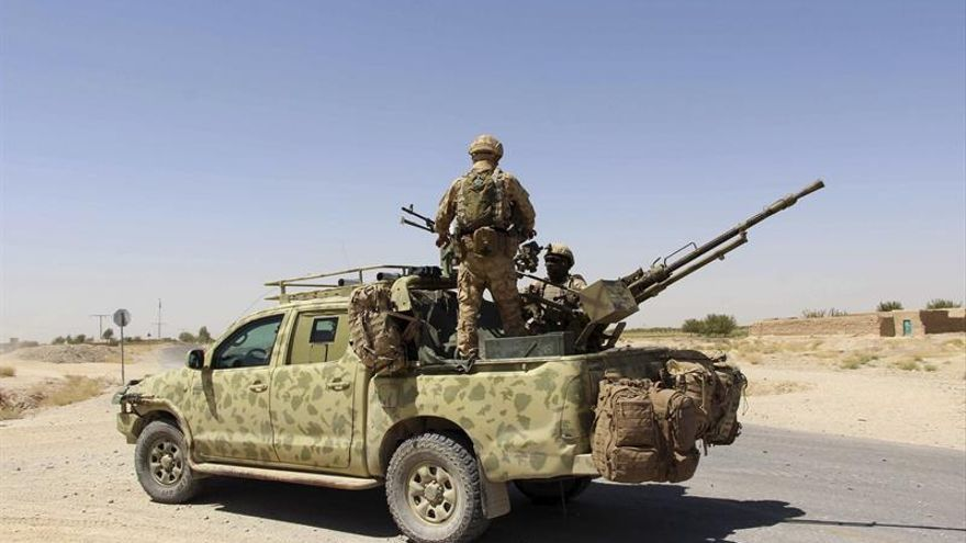 Los talibanes entran en la capital de la provincia de Uruzgan en Afganistán
