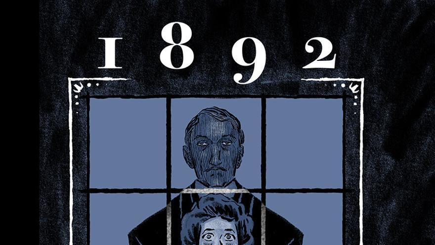 Portada de '1892' el cómic basado en la obra y vida de Benito Pérez Galdós.