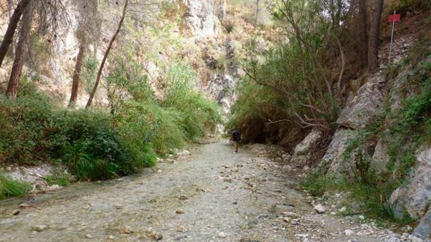 Río Chillar.