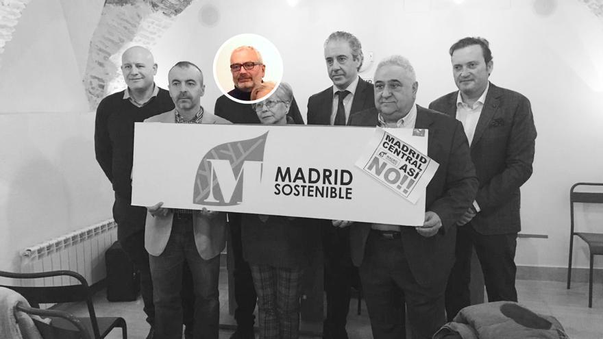 Otra reunión de la Plataforma de Afectados por Madrid Central, con Vicente Pizcueta