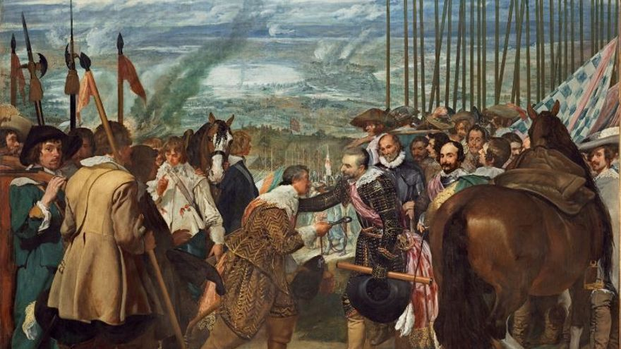 El cuadro de Las lanzas o La rendición de Breda, de Velázquez