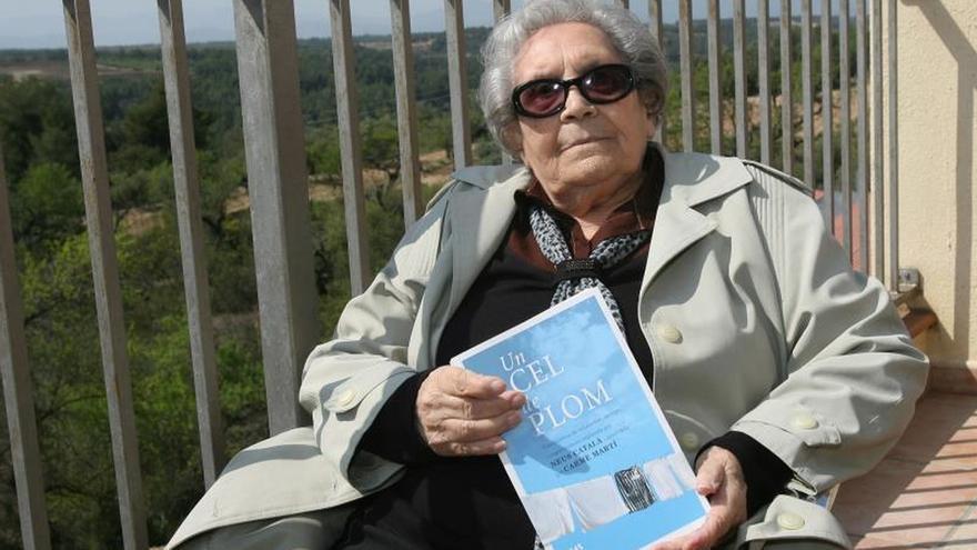 La última superviviente española de Ravensbrück, Neus Català, cumple 103 años