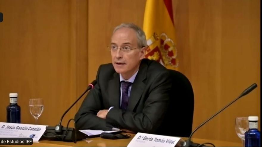 El director general de la AEAT, Jesús Gascón