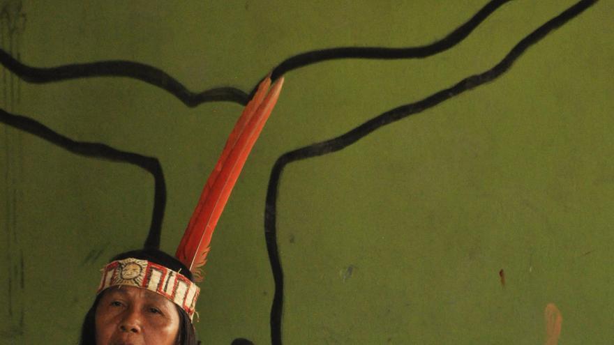 Gloria Ushigua | Imagen cedida a eldiario.es