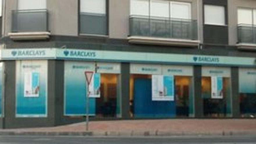 Sucursal de Barclays.