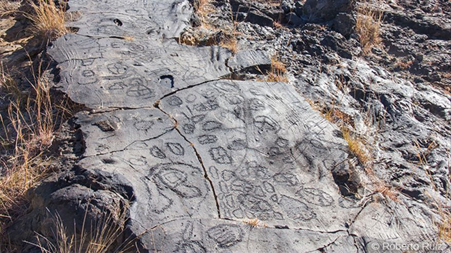 El Hierro - Petroglifos bimbaches