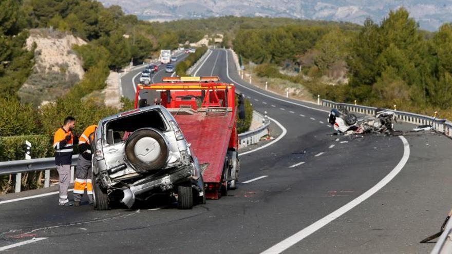 Cinco fallecidos en cuatro accidentes de tráfico durante el fin de semana