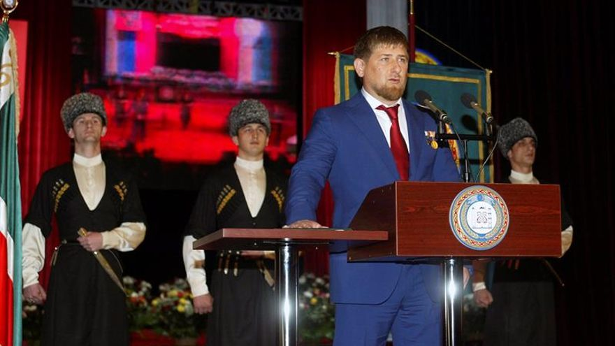"""El líder de Chechenia ve """"extraña"""" la condena a los asesinos del opositor Nemtsov"""