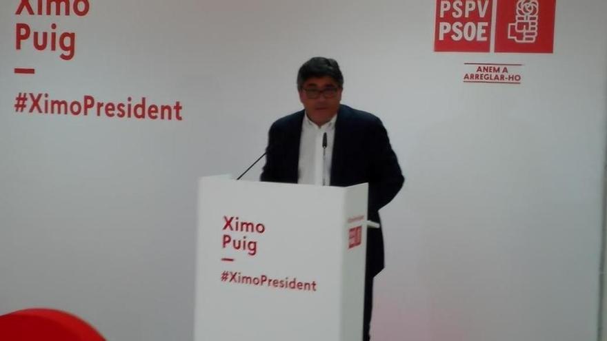 """PSPV, sobre la encuesta a pie de urna: """"Los ciudadanos apuestan por un cambio liderado por el PSOE"""""""