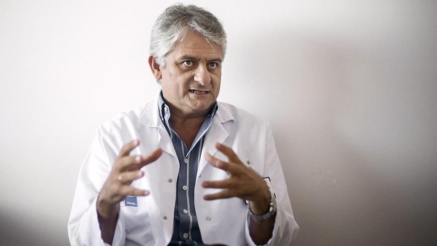 """""""Algunos profesionales tendrán un cierto síndrome post traumático"""", explica el doctor Pascual"""