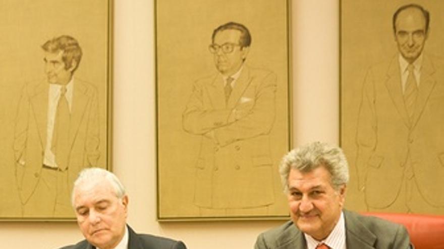 Carlos Dívar, Con Jesús Posada