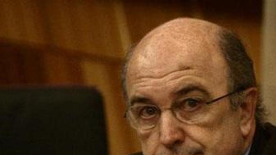 El comisario europeo de Asuntos Económicos y Monetarios, Joaquín Almunia
