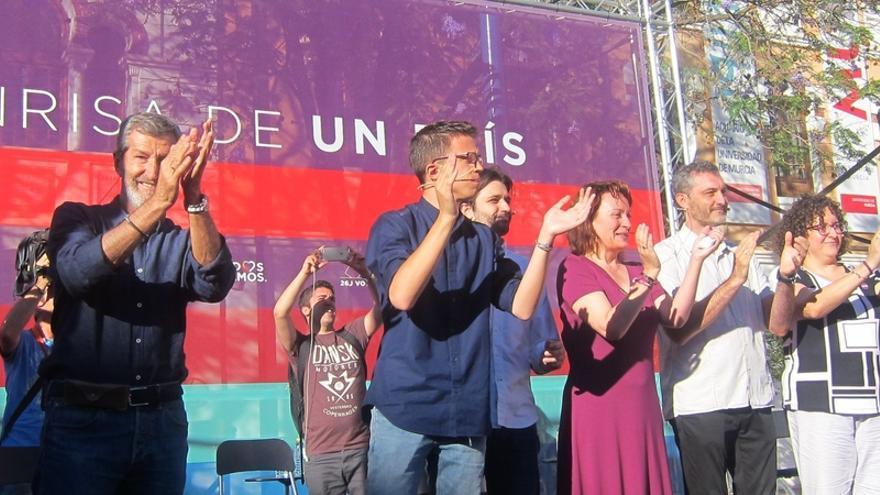 El ex-JEMAD Julio Rodríguez (Podemos) presenta este jueves en Lorca (Murcia) la iniciativa HaceMOS!