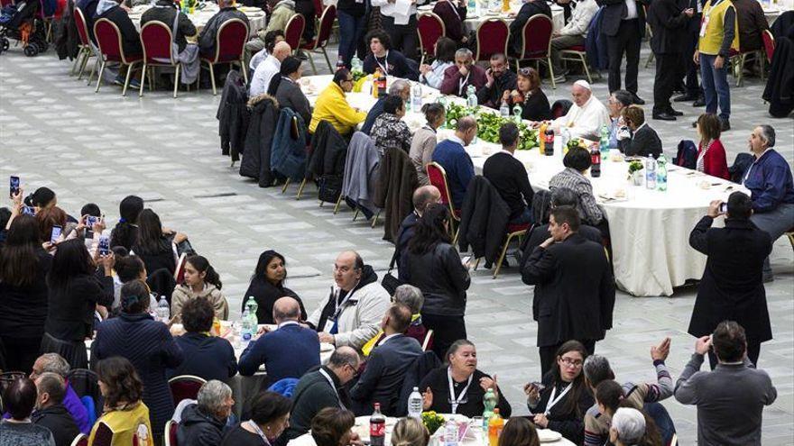 Misa para los pobres en el Vaticano