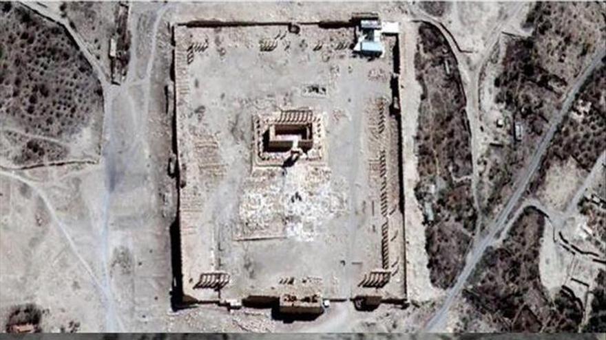 La ONU confirma que el principal templo de Palmira ha sido destruido
