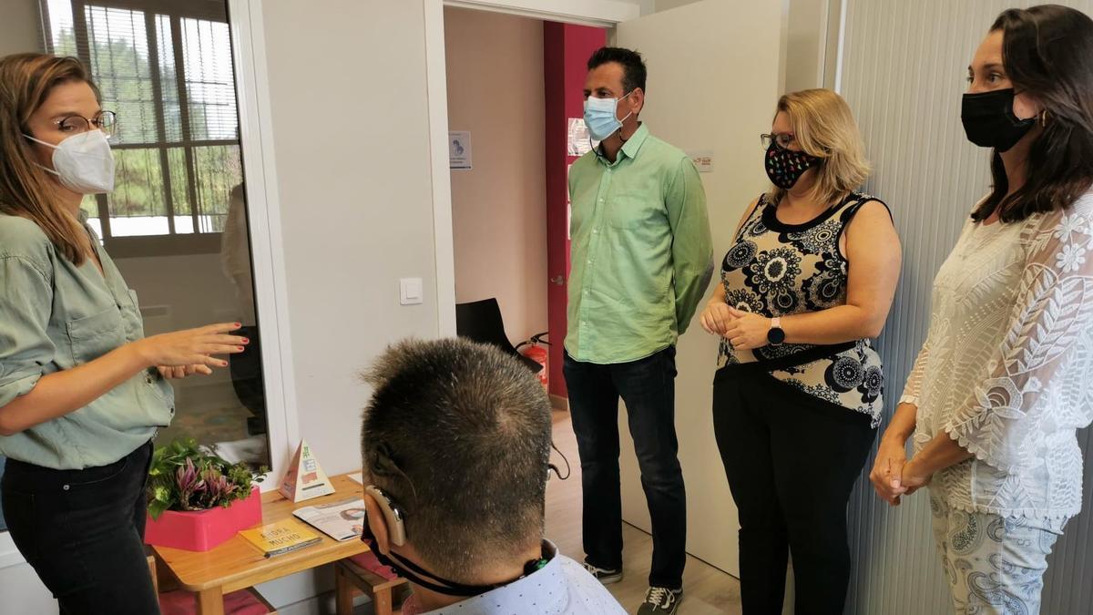Visita de Fundación Cepsa a Funcasor