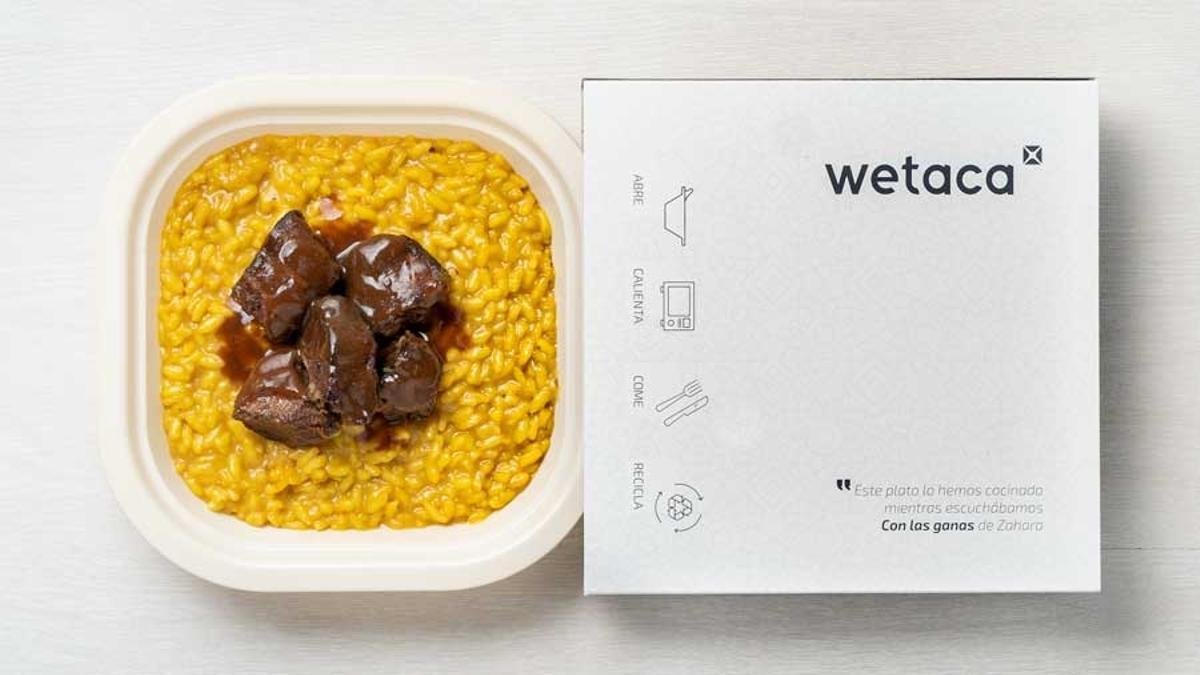 Plato de comida de Wetaca