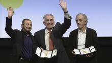 Fernando Trueba, Juan Diego y Juan Mariné, Espigas de Honor en Valladolid