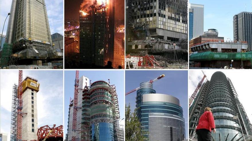 Las incógnitas del incendio del Windsor siguen sin despejarse 10 años después